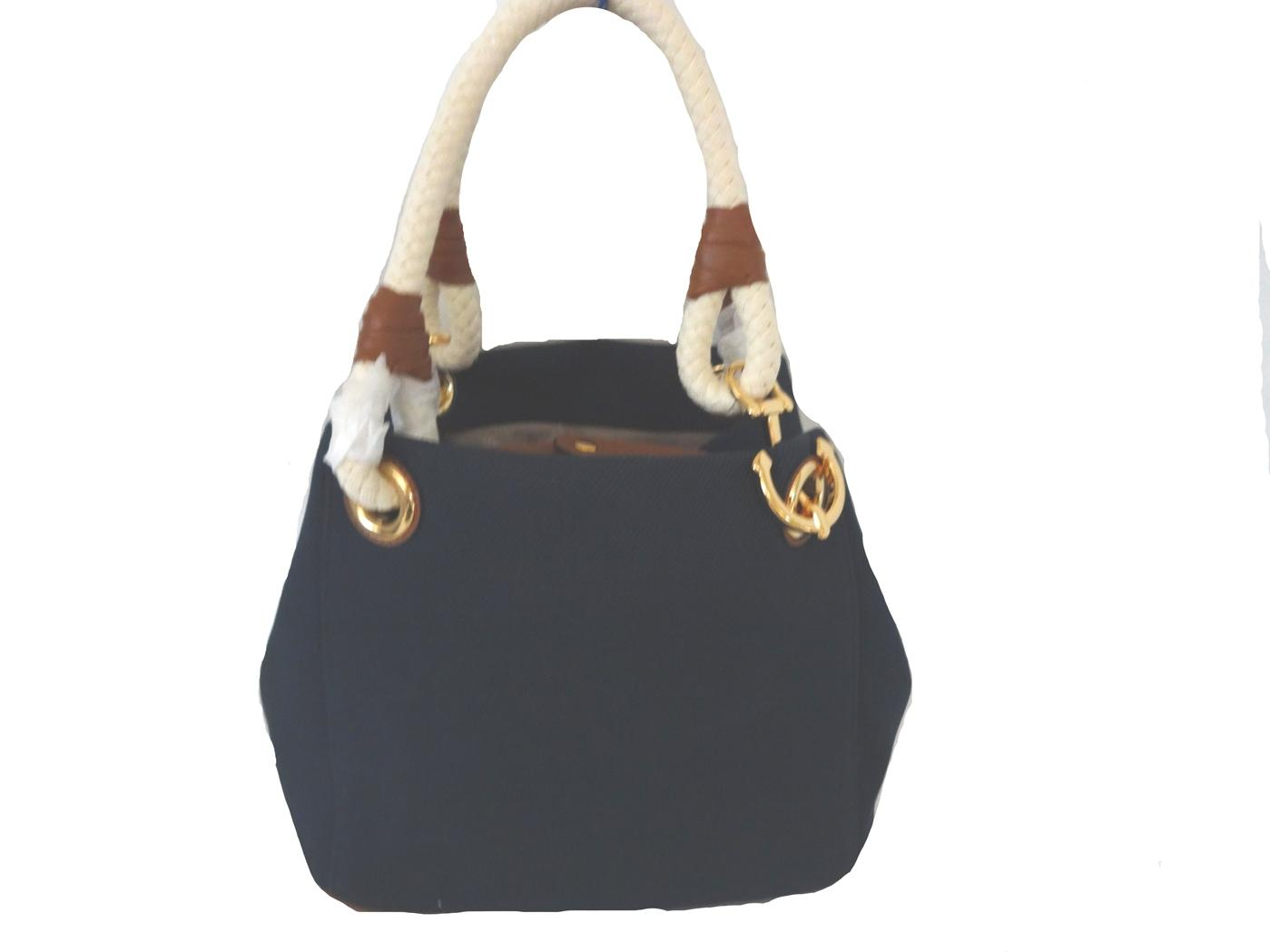588c6ff9e956 ... cheap michael kors marina medium satchel grab navy canvas tote tradesy  bd0d8 22b07