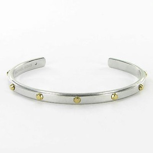 Michael Kors Michael Kors Bracelet Astor Narrow Studded Cuff Bangle Silver-tone