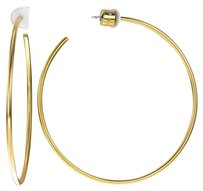 Michael Kors MICHAEL KORS Brilliance Large Hoop Post Gold-tone Earrings MKJ4161710