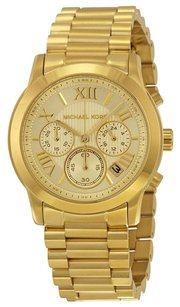 Michael Kors MICHAEL KORS Cooper Gold Dial Gold-Tone Ladies Watch