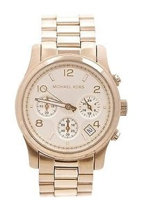 Michael Kors Michael Kors Gold-tone Stainless Steel Runway Chronograph Watch