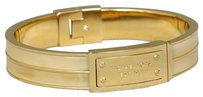 Michael Kors Michael Kors Heritage Logo Plaque Hinge Bangle
