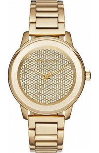 Michael Kors Michael Kors Kinley Pave Gold Tone Ladies Watch