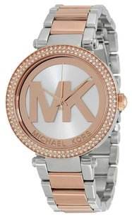 Michael Kors MICHAEL KORS Parker Rose Gold and Silver-tone Ladies Watch