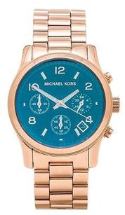 Michael Kors Michael Kors Runway Rose Gold-tone Chronograph Ladies Watch Mk5940