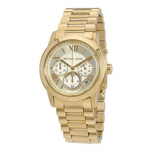 Michael Kors Michael Kors Cooper Chronograph Gold Dial Ladies Watch
