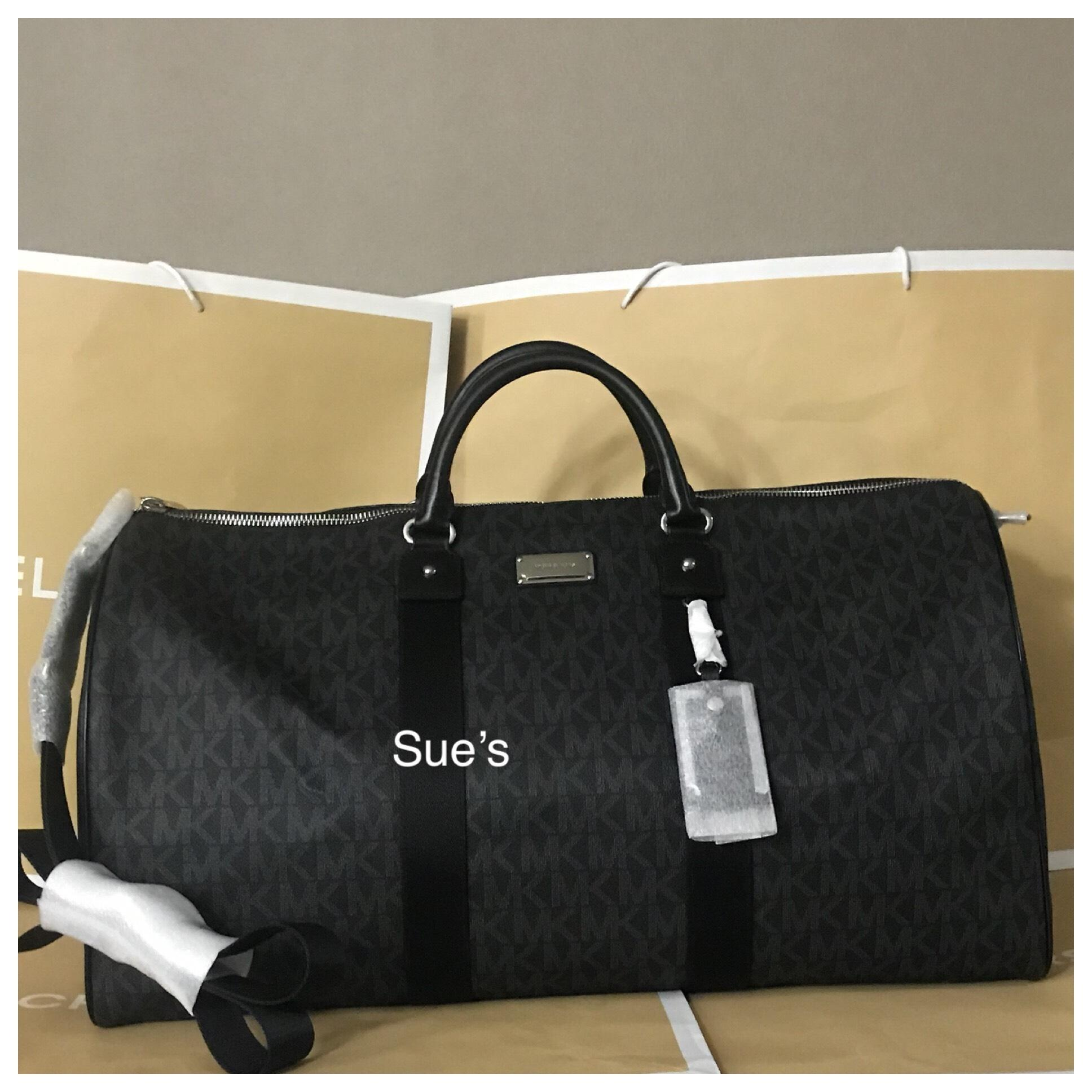 f497e5423aaebb sweden womens michael kors vanilla mk jet set duffle weekend travel bag  21454962 fd006 dcb6d; shop michael kors travel bag f8fdf ecdce