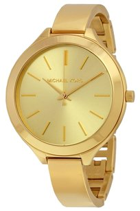 Michael Kors MK3275 MICHAEL KORS Slim Runway Champagne Dial Gold-tone Ladies Watch