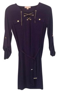 Michael Kors short dress Purple (some people say it's navy) on Tradesy