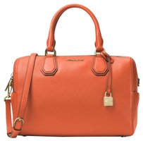 Michael Kors Satchel in Orange/Gold