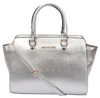 Michael Kors Satchel in Silver