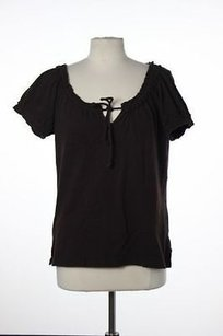 Michael Kors Womens Top Brown