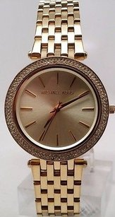 Michael Kors Womens Michael Kors Mk3191 Darci Gold Tone Mesh Watch