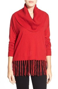 MICHAEL Michael Kors Cotton Blends Cowl Neck Sweater