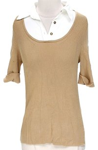 MICHAEL Michael Kors Ribbed Mock Collar Sweater