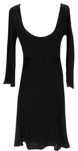 Michael Stars short dress Black Scoop Jersey Knit on Tradesy