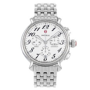Michele Michele Fluette Mww24a000001 Diamond Chronograph Stainless Steel Womens Watch