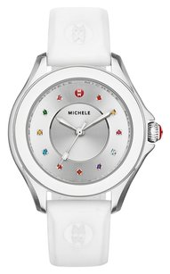 Michele MICHELE Women's MWW27A000007 CAPE Analog Display Swiss Quartz White Watch