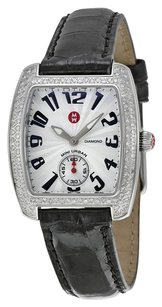 Michele MWW02A000004 Mini Urban Diamond Black Ladies Watch