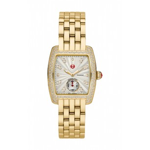 Michele NEW Urban Mini Gold Diamond Dial MWW02A000564 Ladies Watch