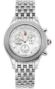 Michele Nwt Michele women's jetway diamond mother of pearl dial watch (recent retail price $1895)