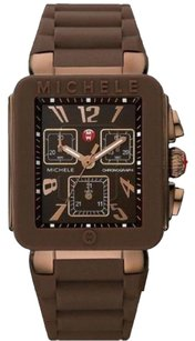 Michele Park Jelly Beans Brown Dial Ladies Watch MWW06L000007