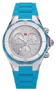 Michele WOMENS TAHITIAN JELLY BEAN CHRONOGRAPH BLUE WATCH MWW12F000049
