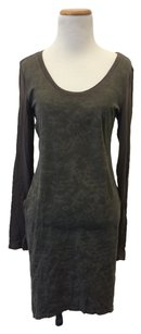 Millau short dress grey/green/brown on Tradesy