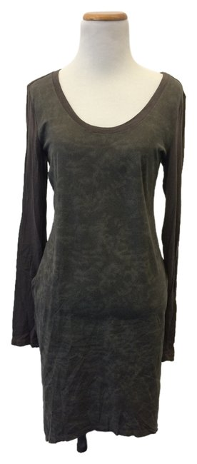 high-quality Millau Grey/green/brown Dress - 68% Off Retail