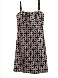 MILLY short dress Blue and White on Tradesy