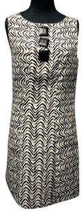 Milly of New York Sleeveless Lined Button Accent 5338 A Dress