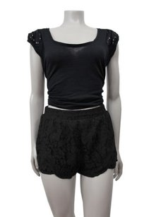 MINKPINK The Days You Feel Alive Shorts Black