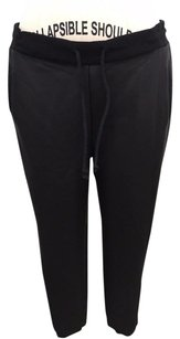 MINKPINK Faux Leather Drawstring Darkest Dawn Track Pants