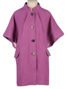 Miriam Ocariz Cape Capelet Burberry Trench Coat