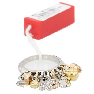 Miss Sixty Miss Sixty Multi Charm Stainless Steel Ladies Ring