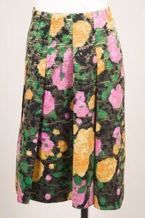 Miu Miu Black Gold Multicolor Skirt