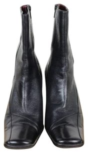 Moda International Moda Womens Solid Leather Black Boots