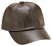 Modern Edge Vegan leather baseball cap