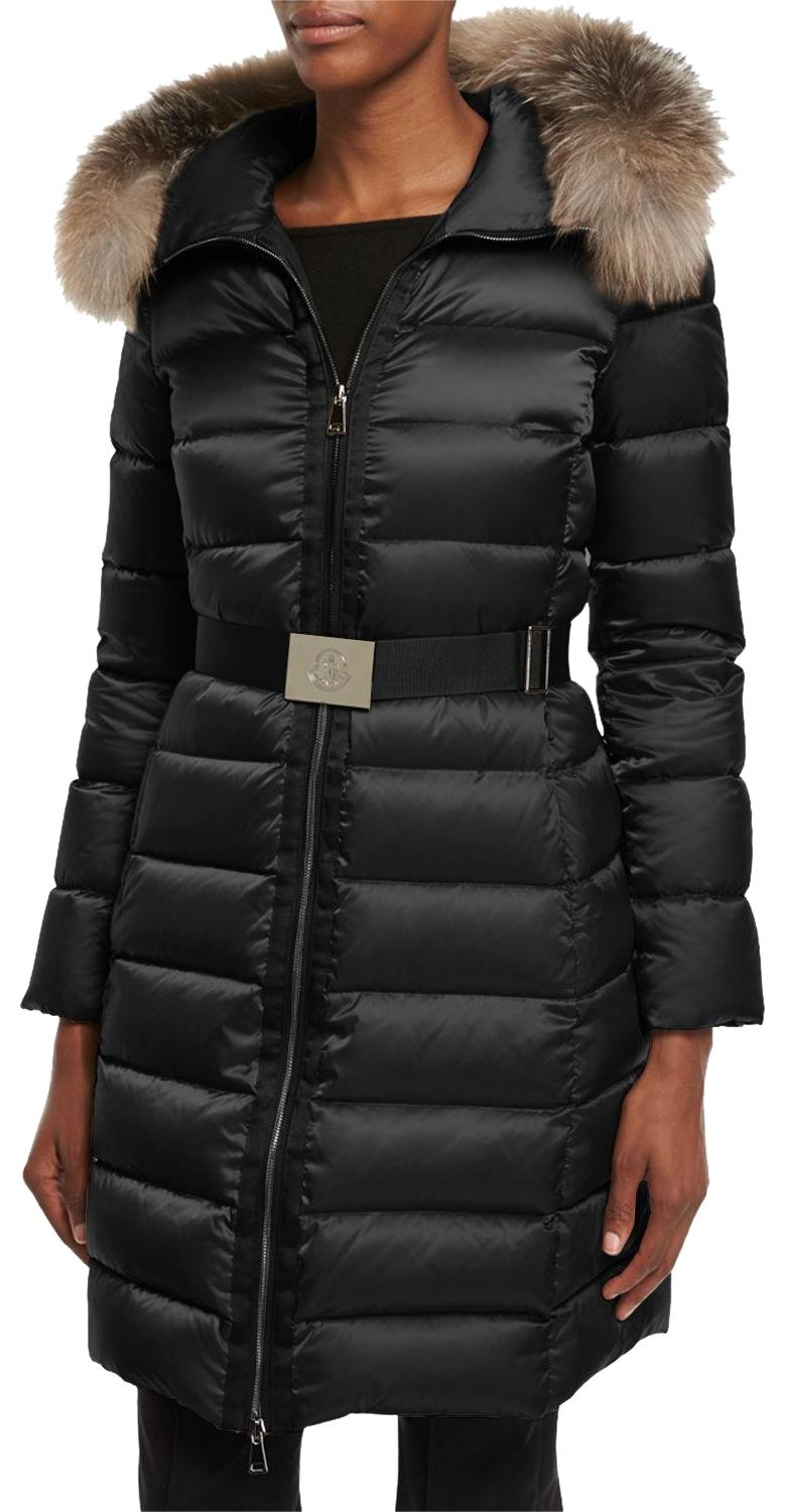 Moncler Tinuviel W/Fur Winter Coat ...