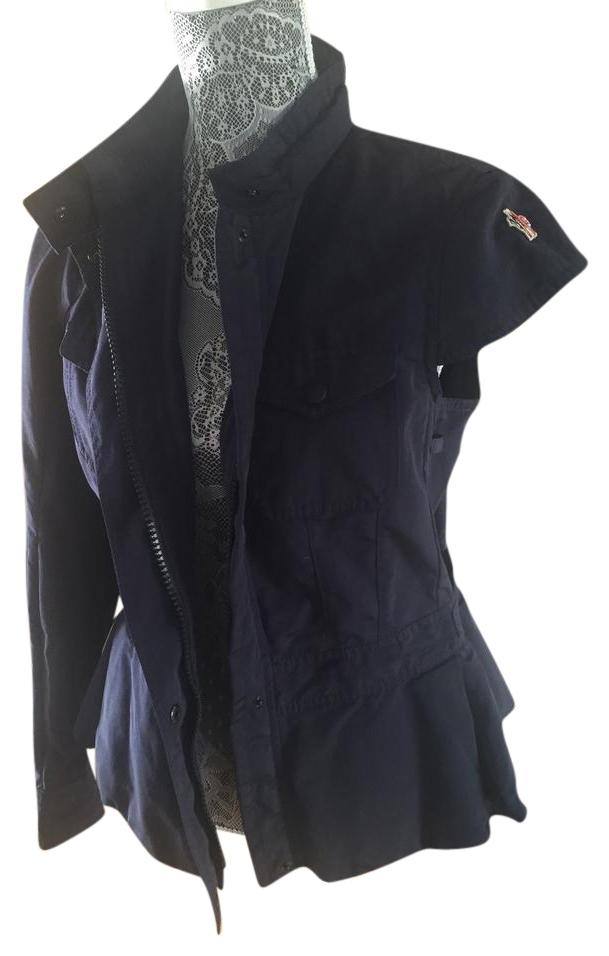 Moncler Dark blue Jacket ...