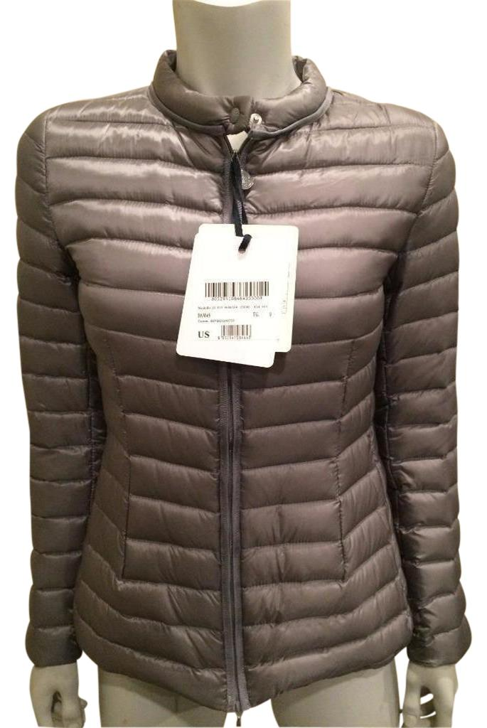Moncler Parka Puffer Damas Grey Jacket ...