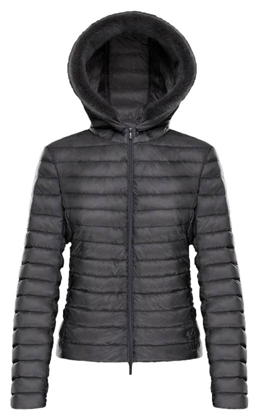 Moncler Fur Down/Feather Fill Hoodie Jacket ...