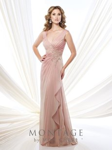 Montage English Rose Iridescent Dress