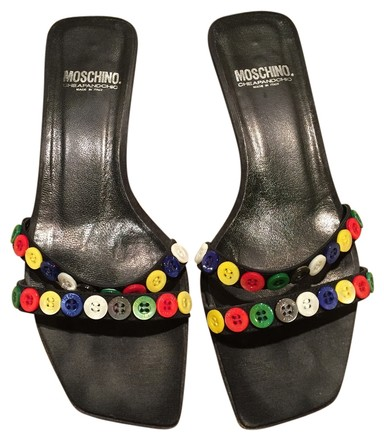 Moschino Black with Multi Sandals