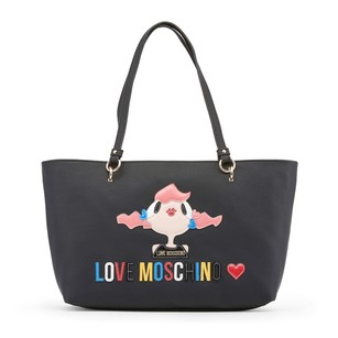 Moschino Purse Tote in Black