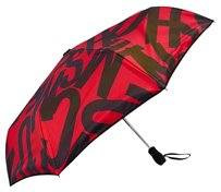 Moschino Moschino Red Umbrella Auto Open close