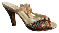 Moschino Multi-Colored Pumps