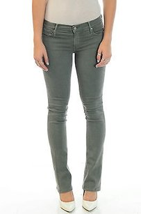 Mother The Runaway Olive Flare Leg Jeans