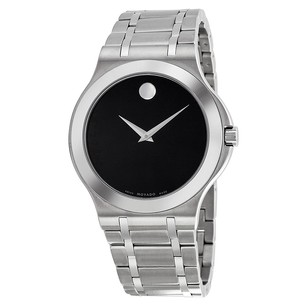 Movado Corporate Exclusive Black Dial Stainless Steel Men's Watch MV0606276