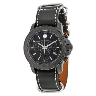 Movado Movado Black Dial Mens Watch